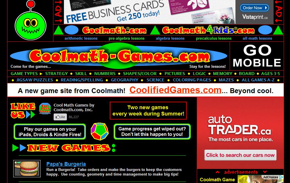 Coolmaths Games